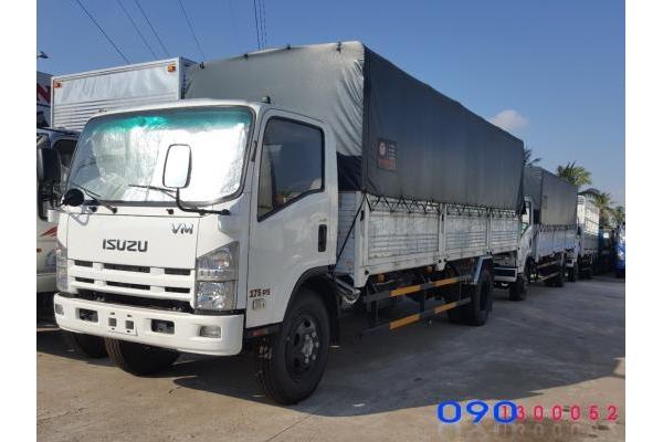 Xe tải Isuzu FN129 VM 8.2 tấn thùng dài 7.1 mét