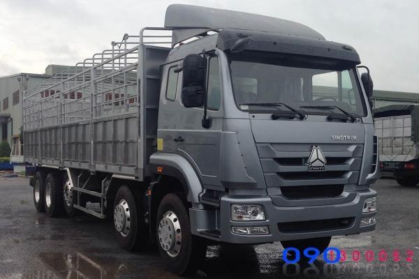 Xe tải thùng 5 chân TMT Hohan 22 tấn