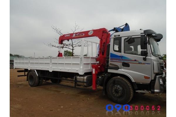Xe tải Dongfeng 8 tấn gắn cẩu UNIC 5 tấn UR-V554