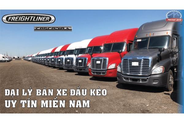 Đại lý bán xe đầu kéo Mỹ Freightliner Cascadia uy tín Sài Gòn