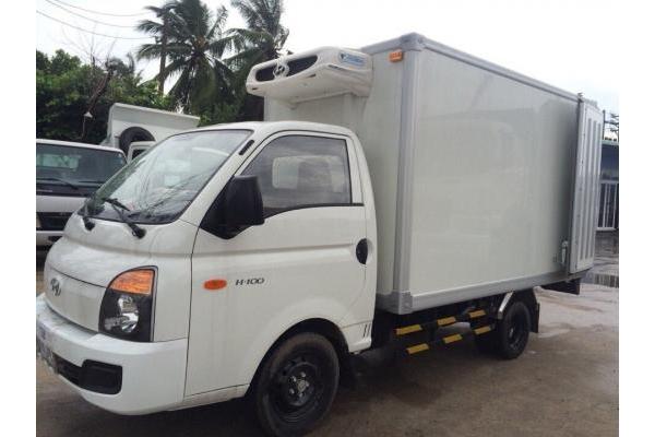 Xe tải Hyundai PORTER H100 1 tấn thùng bảo ôn