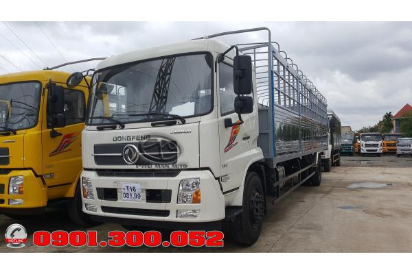 Xe tải Dongfeng B180 8 tấn nhập khẩu 2019 Euro 5 thùng dài 9.5 mét