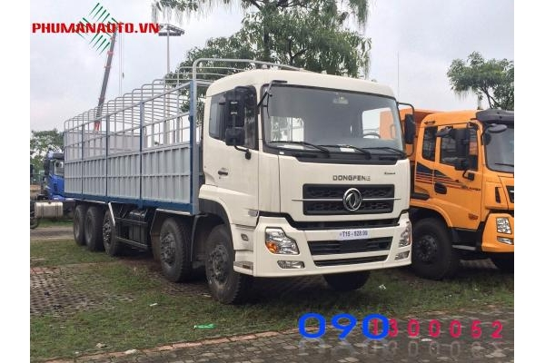 Xe tải Dongfeng 5 chân Hoàng Huy L315 22 Tấn