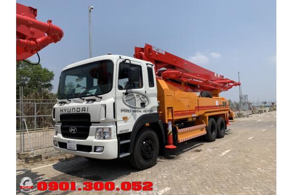 Xe bơm bê tông Hyundai HD260 2019 cần KCP 38 mét