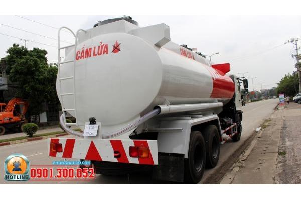 Xe Hino FM8JNSA chở xăng dầu 18 khối