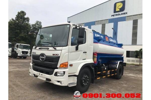Xe Hino FG8JJ7A chở xăng dầu 11 khối