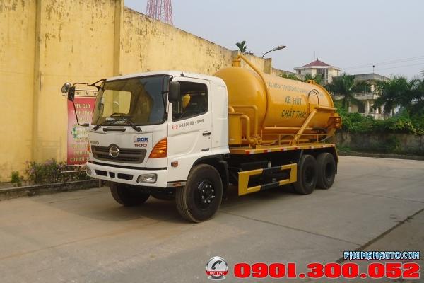 Xe hút chất thải HINO FM8JNSA 12 khối