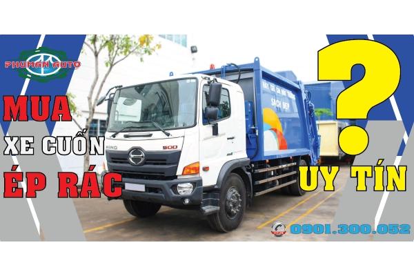 Tiêu chuẩn đánh giá đại lý bán xe cuốn ép rác uy tín Sài Gòn