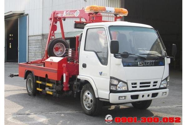 Xe cứu hộ cẩu kéo isuzu 3.5 tấn 2 chức năng nhập khẩu