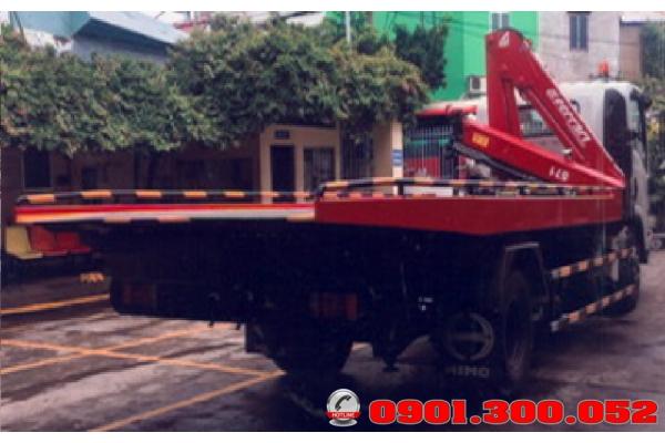 Xe Isuzu NQR75LE4 cứu hộ giao thông 3 trong 1