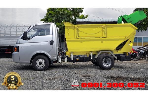 Xe tải Jac chở rác mini X125 1.25 tấn