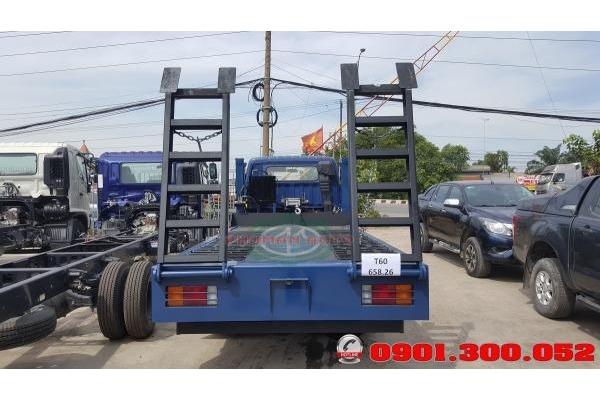 Bán trả góp xe nâng đầuHyundai Mighty 110S- xe lu bồi Hyundai 7 tấn chở máy công trình Euro 4