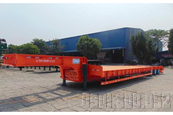 Sơmi Phooc lùn45 Feet G53-LD-01 51 tấn chở máy công trình 3 trục Fuwa