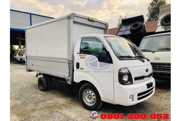 Xe tải Kia K200 thùng cánh dơi - giá xe Thaco Friontier K200 1.5 tấn thùng cánh én 2019 euro 4