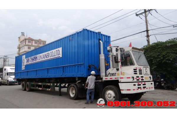 Thùng Container 45 Feet mở cánh dơi
