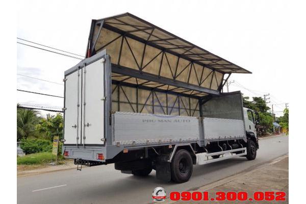Xe tải Isuzu FVM34WE4 15 tấn thùng cánh dơi