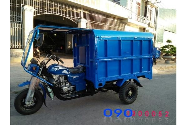 Xe ba gác chở rác T&T Fushida