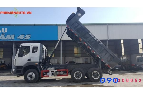 Xe Ben Chenglong 3 Chân 13 tấn 340HP
