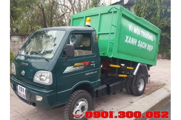 Xe chở rác mini Chiến Thắng 1.2 tấn