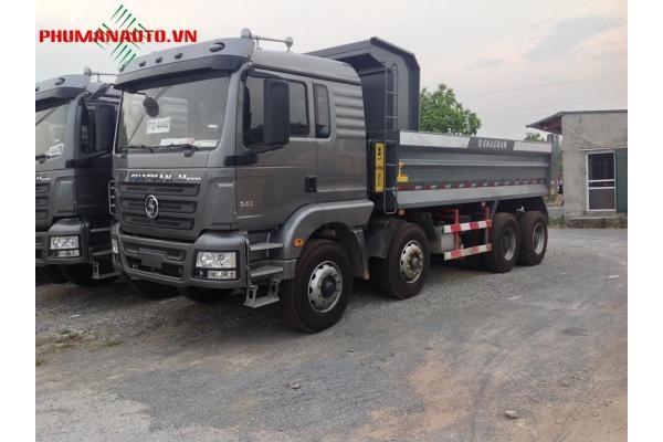 Xe tải ben Shacman 4 Chân 17 tấn 14 khối