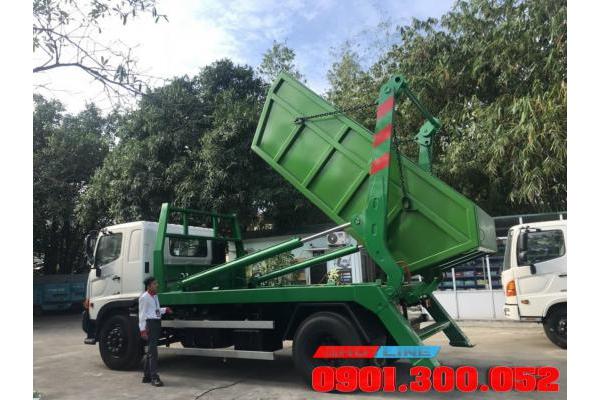 Xe chở bùn - chở chất thải 7 khối Hino FG8JJ7A Euro 4