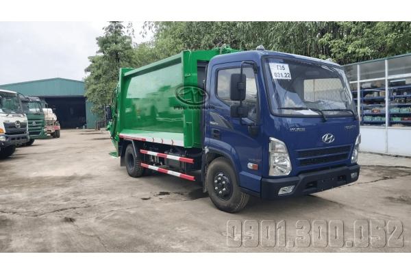 Xe cuốn ép rác 10 Khối Hyundai Mighty EX8 GT 8 tấn 2020