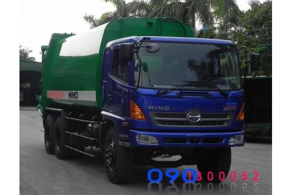 Xe cuốn ép rác HINO FM8JNSA22 khối tải trọng 10 tấn