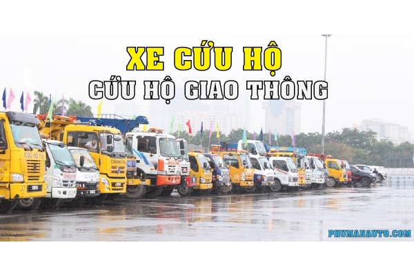 Chức năng hoạt động của các dòng xe cứu hộ giao thông - tải trọng kéo của xe cứu hộ