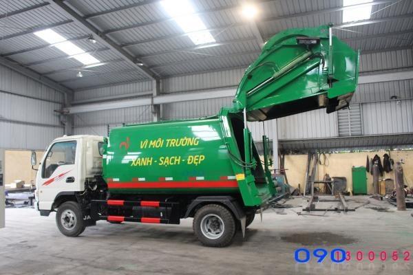 Xe cuốn ép rác Jac HFC1048K 6 khối (6m3) 3.5 tấn
