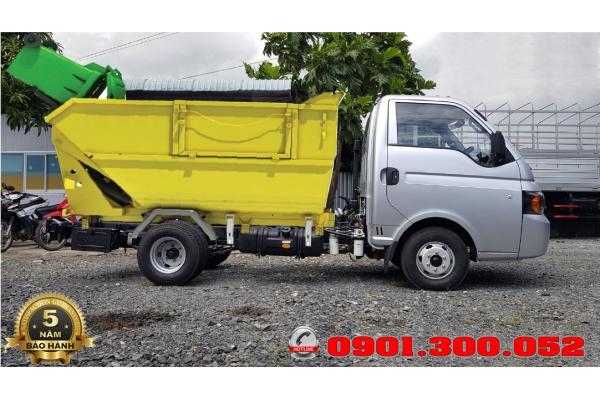 Bán trả góp xe chở rác miniJac porter 1.25 tấn - X125 - xe chở rác vào ngõ hẽm thành phố