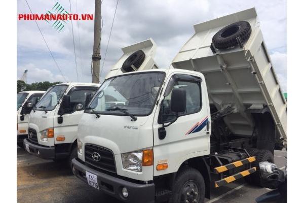 Xe tải ben Hyundai HD99 6 tấn