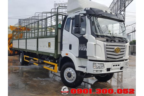 Xe tải mui bạt Faw 7.2 tấn thùng dài 9.8m - xe tải thùng dài chở pallet