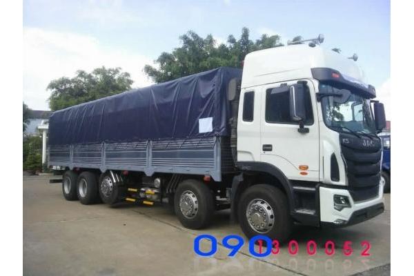 Xe Tải JAC 22 tấn - 5 Chân Cabin K5 340HP