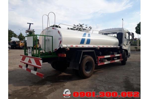 Xe phun nước rửa đường Dongfeng 9 khối 2018