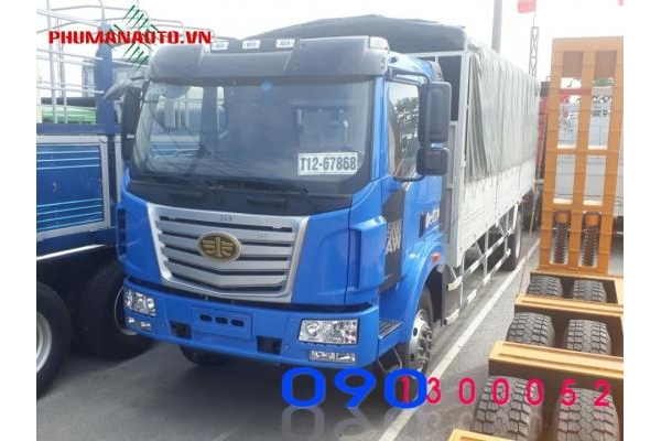 Xe tải Faw 9.6 tấn thùng dài 7.6 mét
