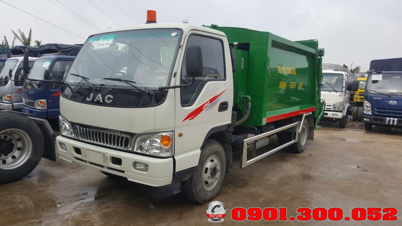 Giá xe cuốn ép rác Jac HFC1061K3 9 khối - 9m3